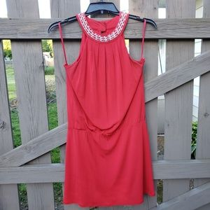 🌼White House/Black Market Red Dress Size Medium